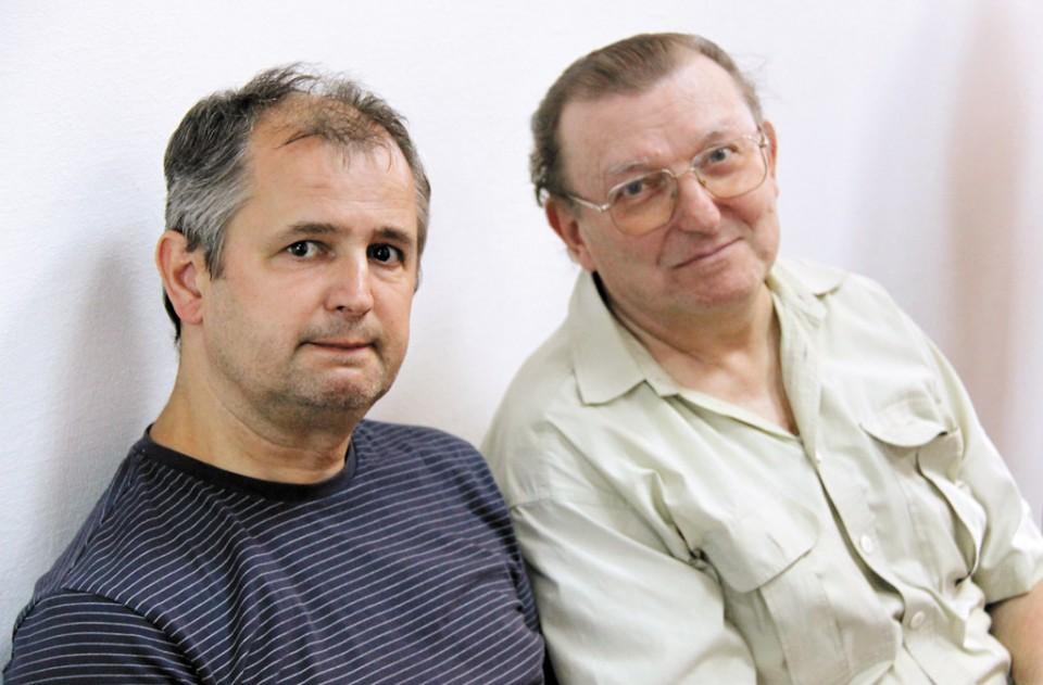 Andrija Pavleković (livo) i prof. Ðuro Vidmarović